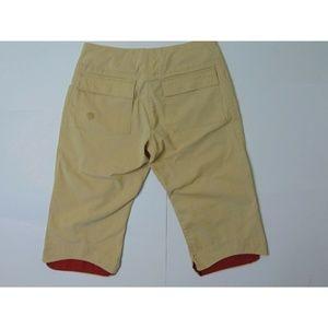Montain Hardwear 6 Capri Hiking Pants Stretch